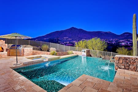 Like Your Own Resort! 5 Master Suites, Heated Pool - 洞溪(Cave Creek)