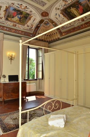 Double bedroom with Jacuzzi B&B Il Gianduia - Lucignano - Bed & Breakfast