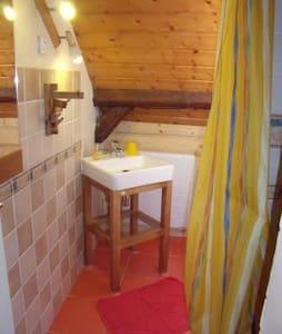 Arechettaz, Chambre de 2 dans chalet en montagne - Queige