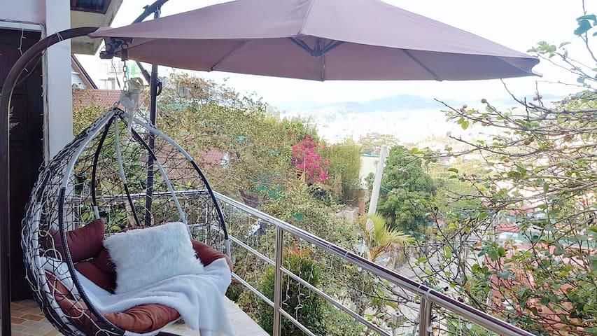 1Br Apt: Amazing View of Baguio, near Burnham Park