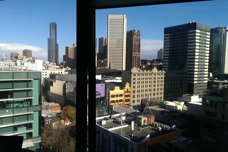 City View - Side Window