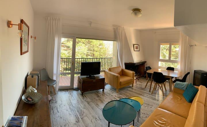 Apartamento con piscina en la sierra de Madrid