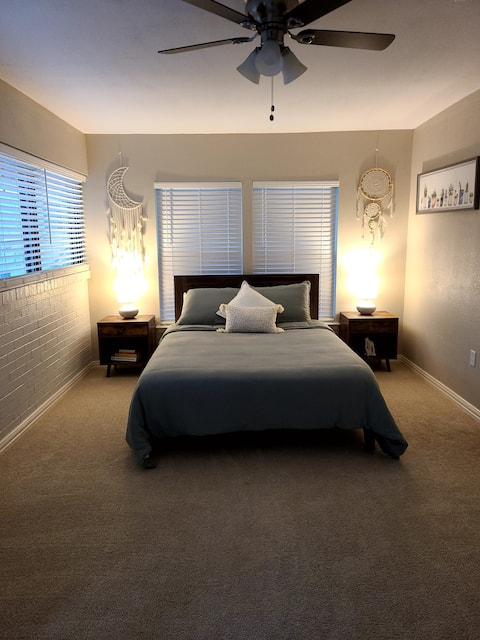 Cozy and Private Studio Style Bedroom