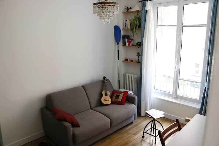 Chambre Privée dans l'appartement d'un Designer