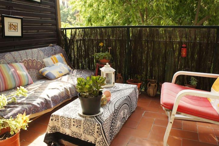 Quiet cosy room - Barcelona - Apartment