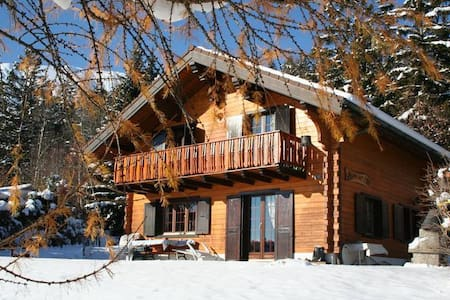 Beautiful chalet in the Swiss Alpes - Arbaz