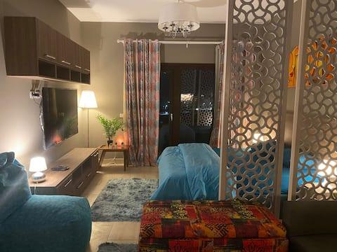 507- Incredibile monolocale con vista piscina ad Al Dau Heights