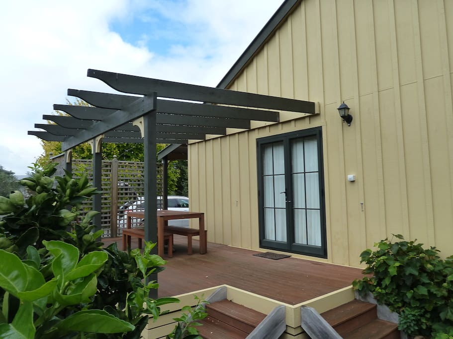 Pergola Deck access from Lounge