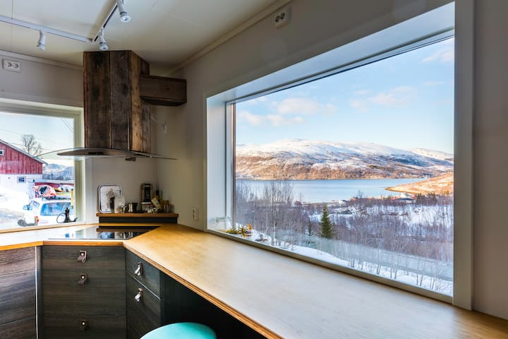 Perfect base for families, kayakers and skiers