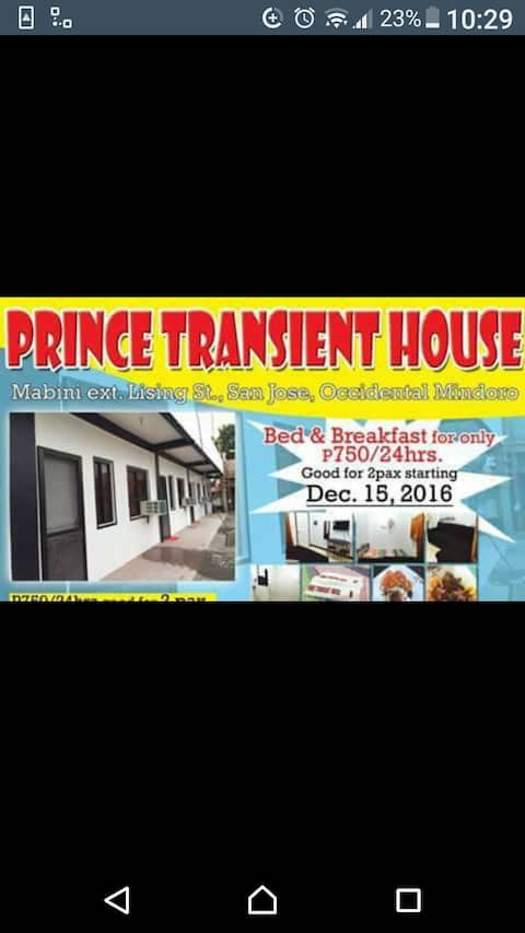 Prince Transient house.Family room#6 good for 5pax