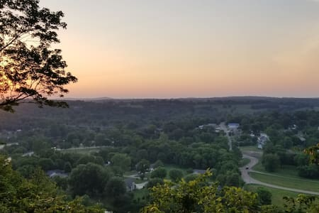 VIEWS ABOVE THE WHITE RIVER AND HISTORICAL COTTER!