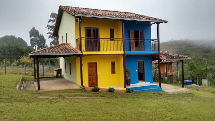 Chalé Brasil - Azul
