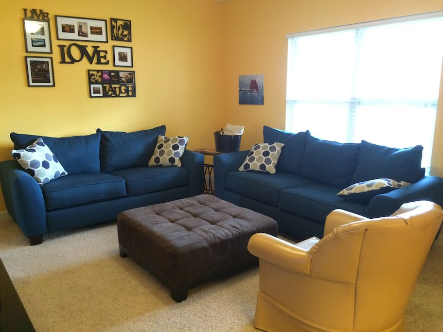 Brand new sofas!