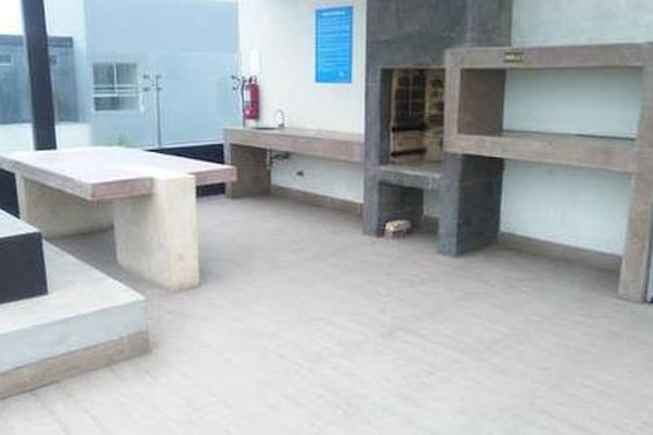 Grill area - common area