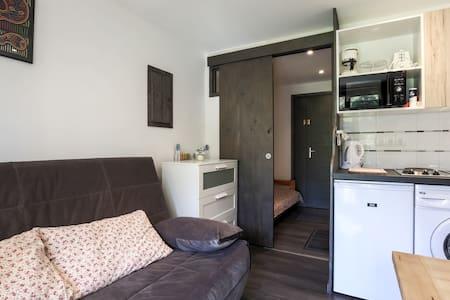 Studio rénové terrasse - Wifi free - Bourg-Saint-Maurice