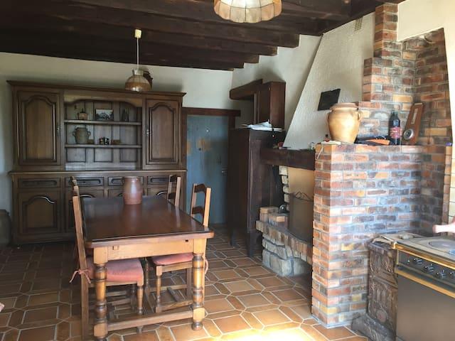 Ancienne ferme - Idéal Printemps de Bourges - Trouy - Rumah