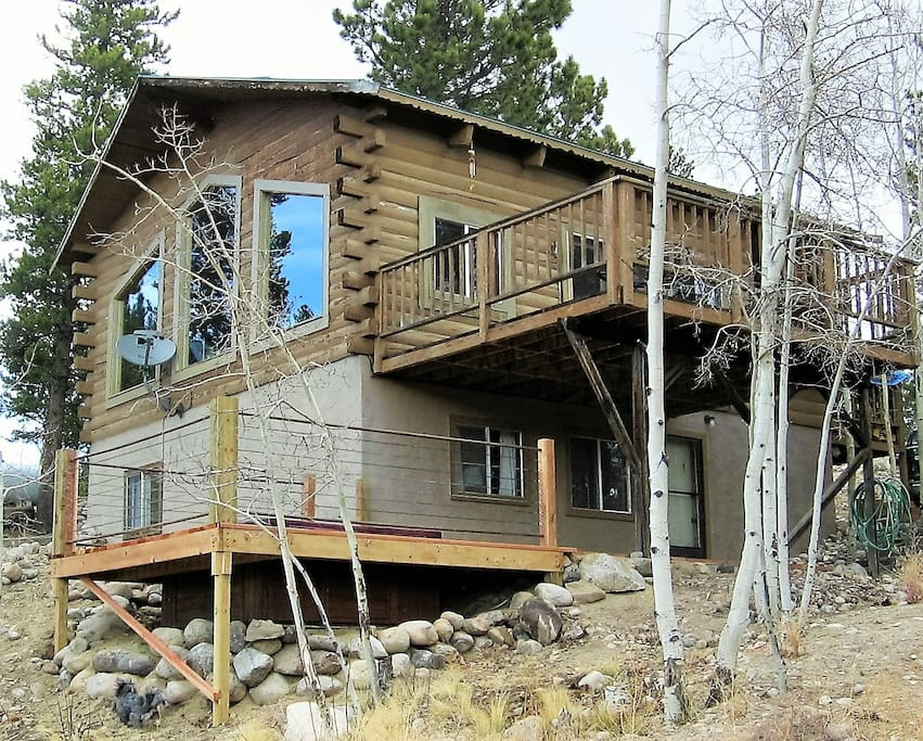 Secluded cabin with epic view cabins for rent in twin for Cabin rentals co