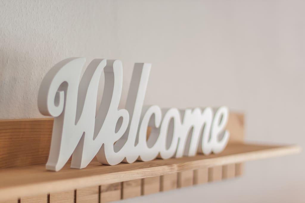 ...immer herzlich willkommen
