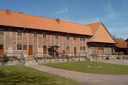 Großer Fachwerkhof - Wölpinghausen - Osakehuoneisto