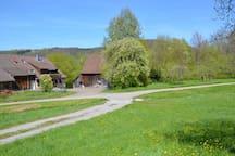 Gemütliche FeWo in ehemaligem Bauernhof