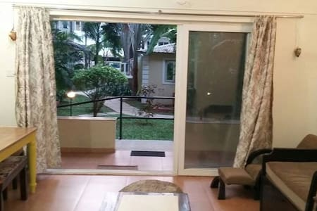 Fully Furnished Pool Facing 1BHK at Arpora - Saligao - Apartment