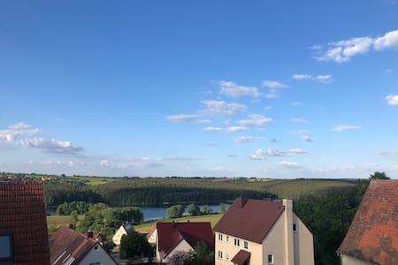 Brombachsee 🏖 5 Min zu Fuß zum See! im Herbst toll