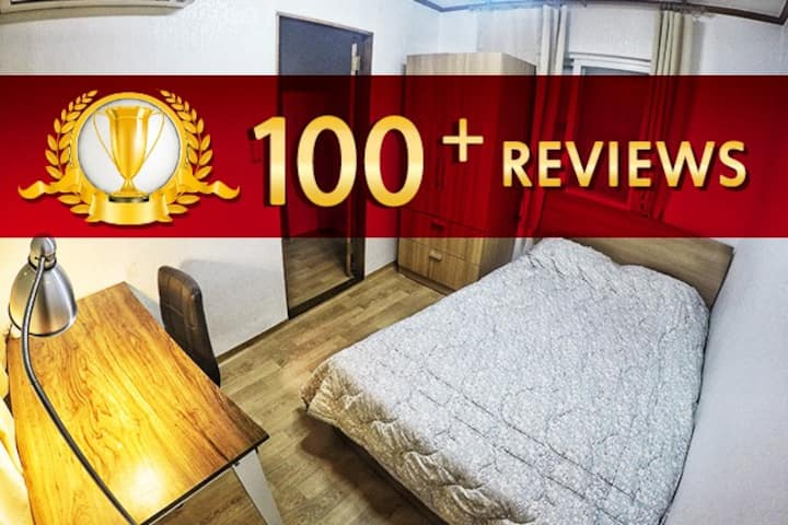 Sinchon 2 BR apartment 2 Floor and Rooftop View