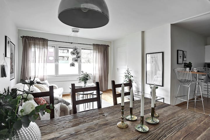 Mysig lägenhet mitt i mellan Vasastan och Linné - Gothenburg