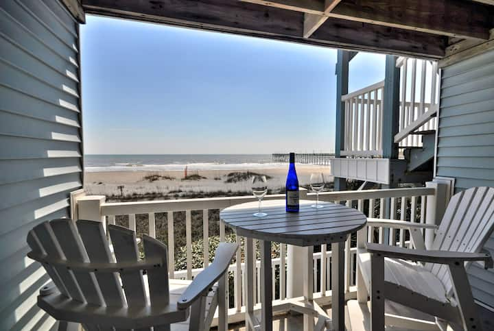 Oceanfront Beach Getaway - Newly Renovated!