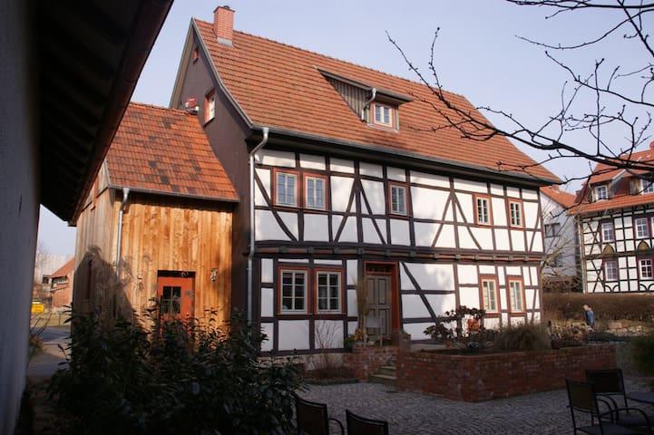 Gästezimmer im Lutherstammort Möhra für 2 Personen