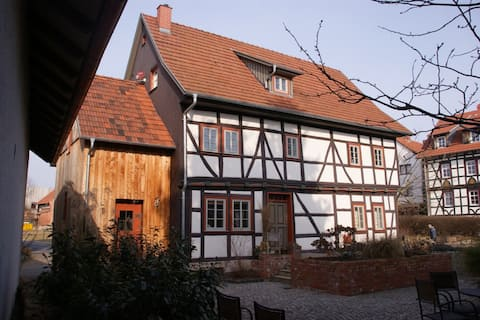 Guest room in the Luther hometown of Möhra for 2 people