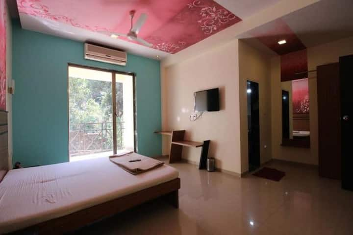 Deluxe Room at Krishna Resorts