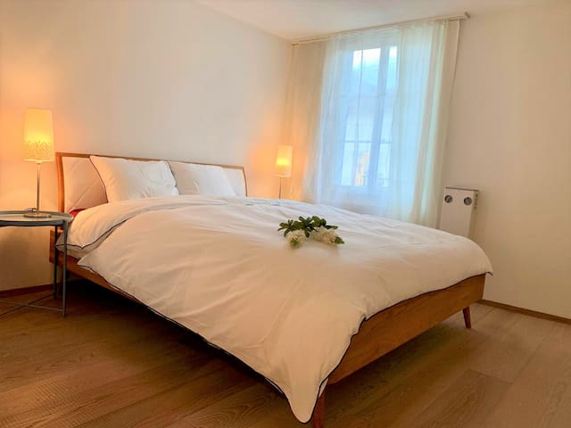 Morden Appartment for 4P with lake view