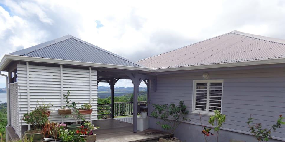 Charmante maison à la vue imprenable