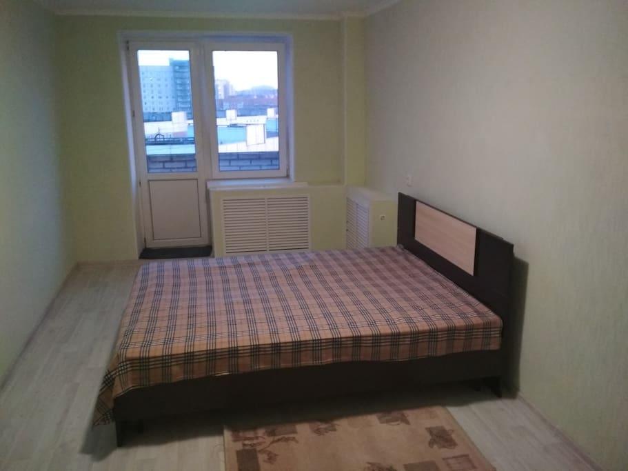 17.2 кв.м. 2х спальная кровать