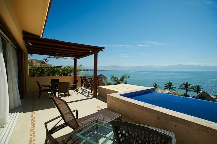 Paraíso junto al mar en Punta Esmeralda