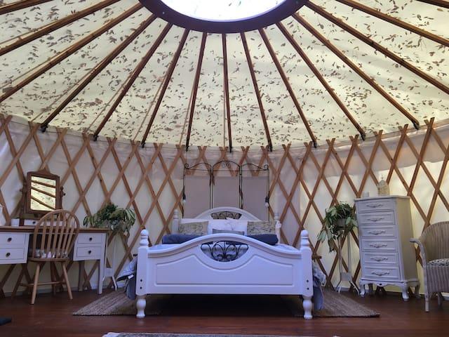Yewberrie Yurt