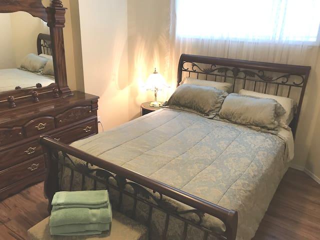 Lower-level bedroom