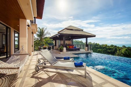 Luxury villa with private chef and car / chauffeur