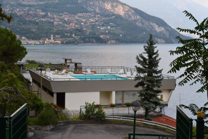 Vista sul Lago d'Iseo - Residence Zù