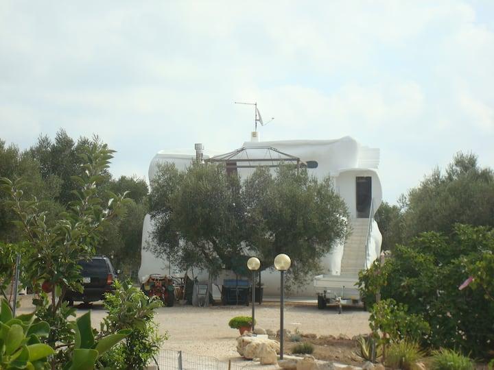 Villa in Salento Casa Flintstone