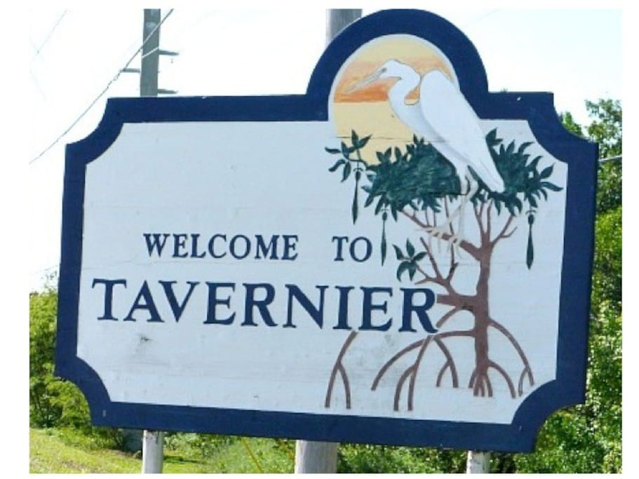 You will know you are close to Burton Dr. when you enter Tavernier.
