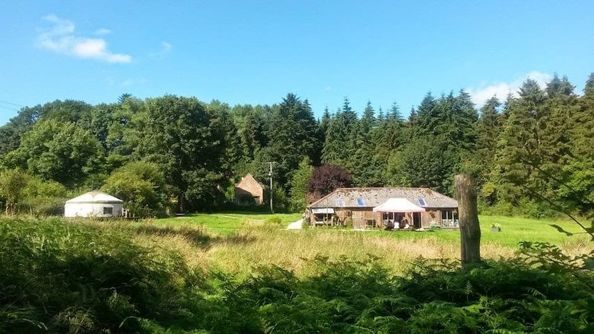 Yurt in the heart of Shropshire for Respite