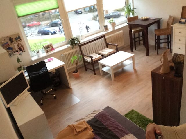 1 Zi.Wohnung im Hamburger Norden - ฮัมบูร์ก - อพาร์ทเมนท์