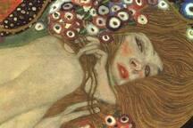 Have a good night's sleep with Gustav Klimt's Sea Serpents