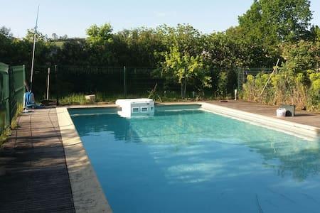 Maison de caractere avec piscine - Montoussin