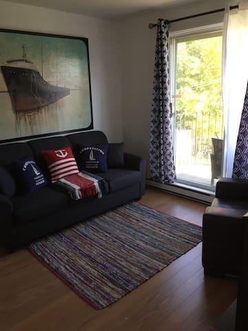 Charmant appartement/Charming apartment - Ville de Québec - Apartament