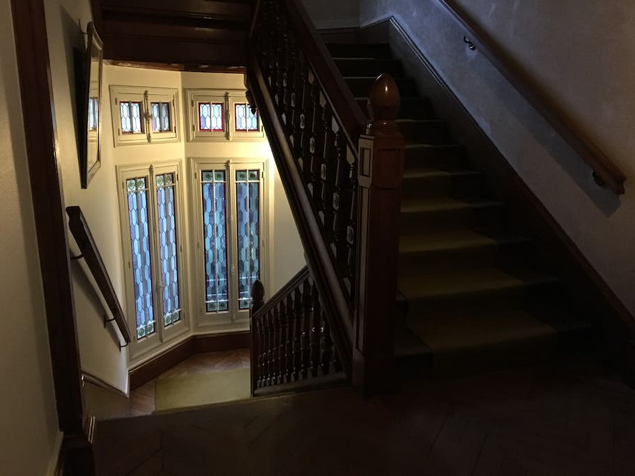 C'est au 1er étage
