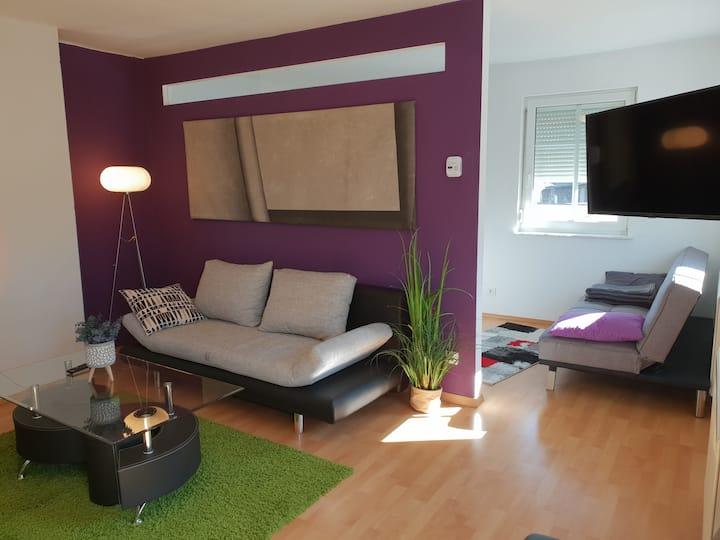 Moderne Wohnung  - 5 Gehminuten - Zentrum & See