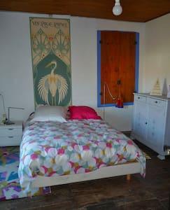 Maison d'artiste près du lac de Montbel. - Sainte-Colombe-sur-l'Hers - Guesthouse